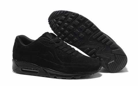 Nike Air Max 90 noir cuir