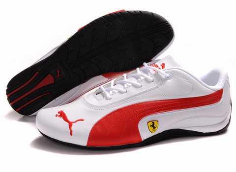 chaussure securite legere puma,puma ferrari rouge,chaussure
