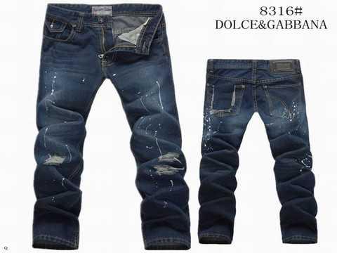 9c2ba4cef5e4 jeans dolce gabbana avec plaque pour homme