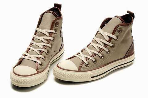 Marron Converse Chaussure Enfant Rversible Cuir LA4qR35j