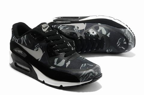 the best attitude 55e55 0b54c chaussure en cuir nike air max 90 premium pour homme,air max 90 blanche  femme,air max 90 noir et rouge pas cher