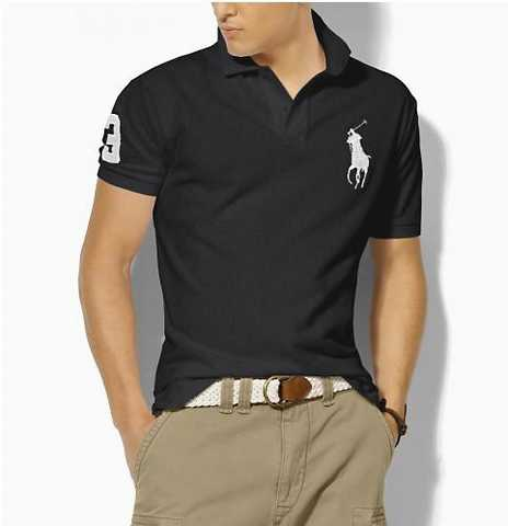 Lauren Ralph Chaussure Underwear polo Homme polo Noir R54Acjq3L