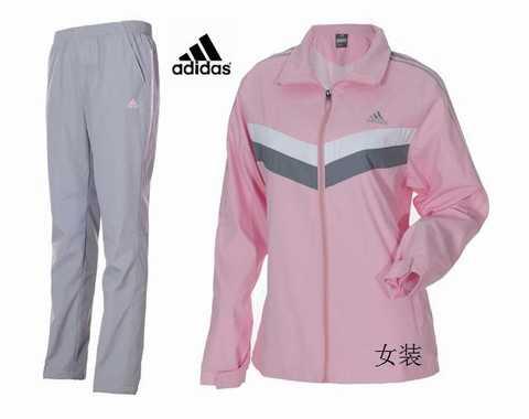 survetement adidas bebe fille noir et rose ed66d409be8