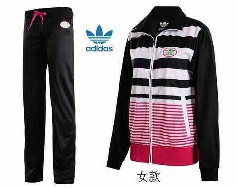 861c46e5cf51f survetement adidas or noir