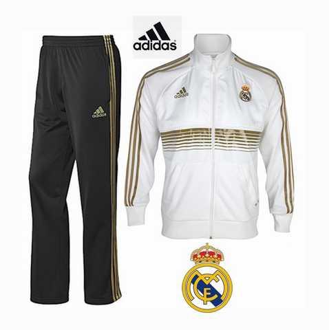 Survetement Adidas Blanc Real Junior Madrid Rose Et jogging R3cqS5AL4j