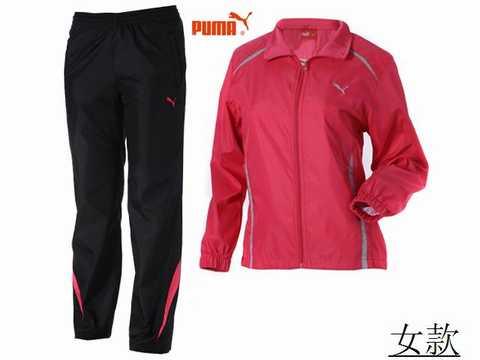 jogging puma noir femme